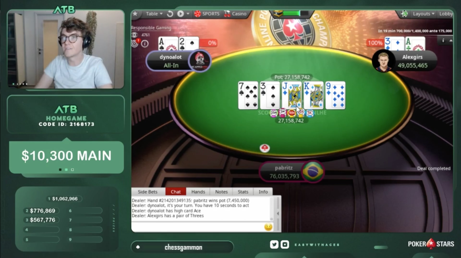 Белорус Александр «alexgirs» Гирс выиграл SCOOP ME на PokerStars и получил $920,595 8