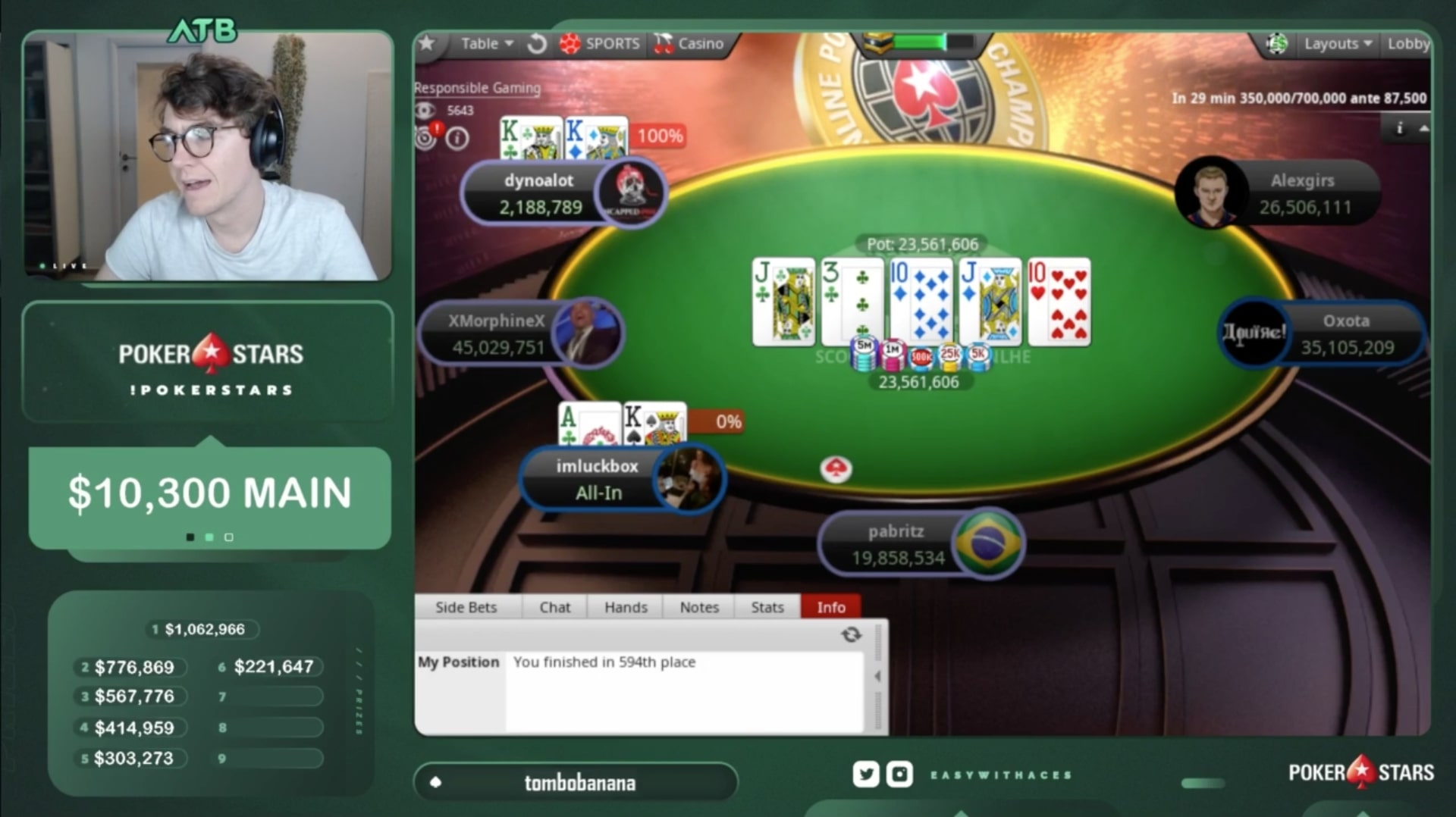 Белорус Александр «alexgirs» Гирс выиграл SCOOP ME на PokerStars и получил $920,595 5
