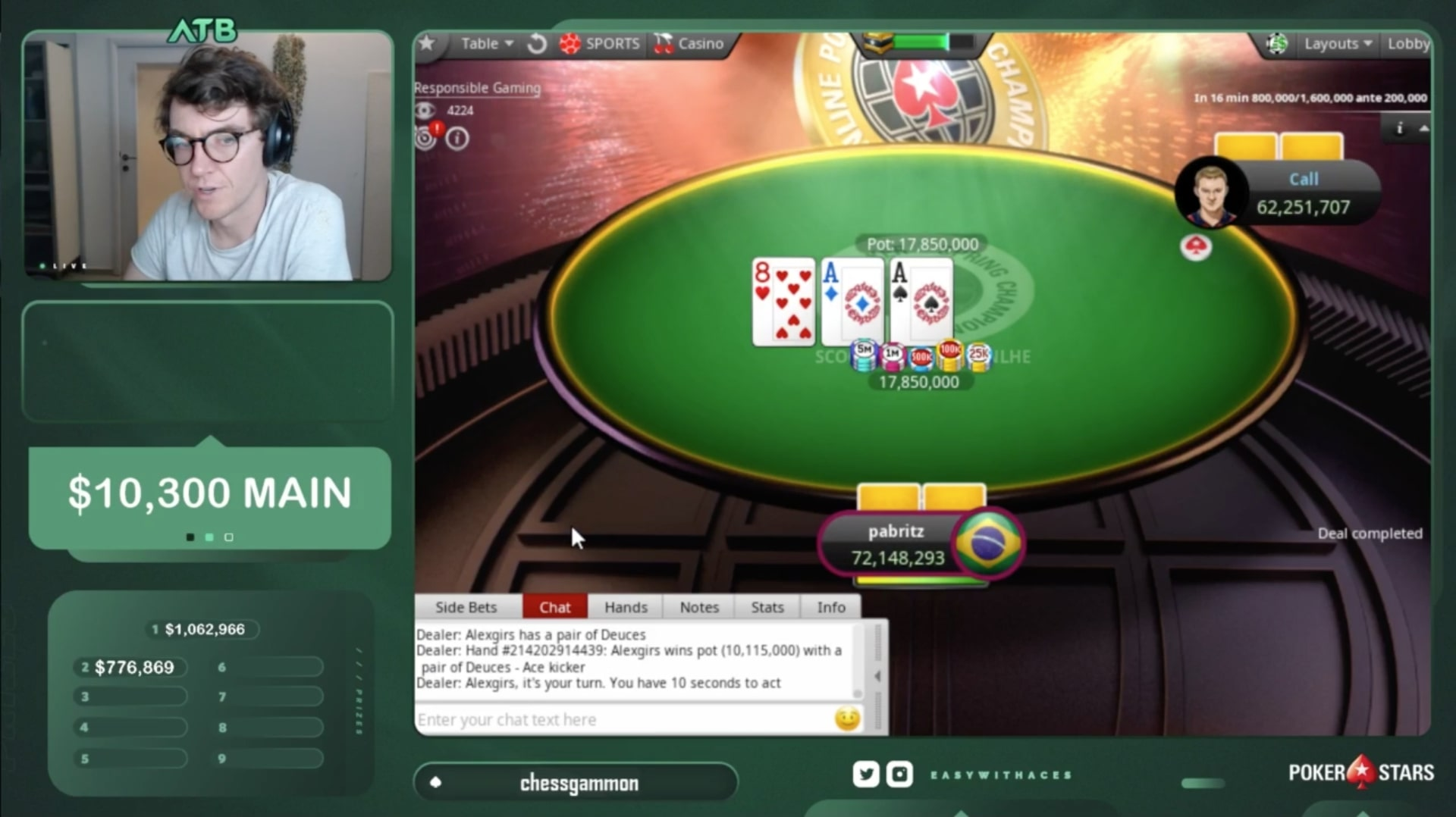 Белорус Александр «alexgirs» Гирс выиграл SCOOP ME на PokerStars и получил $920,595 9
